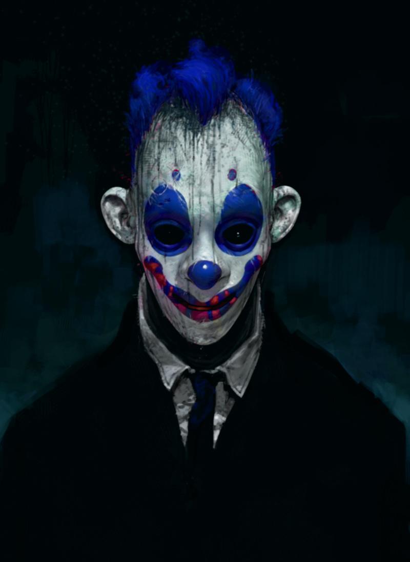 Previously Unseen: Dark Knight Clown Gang Concept Art ...