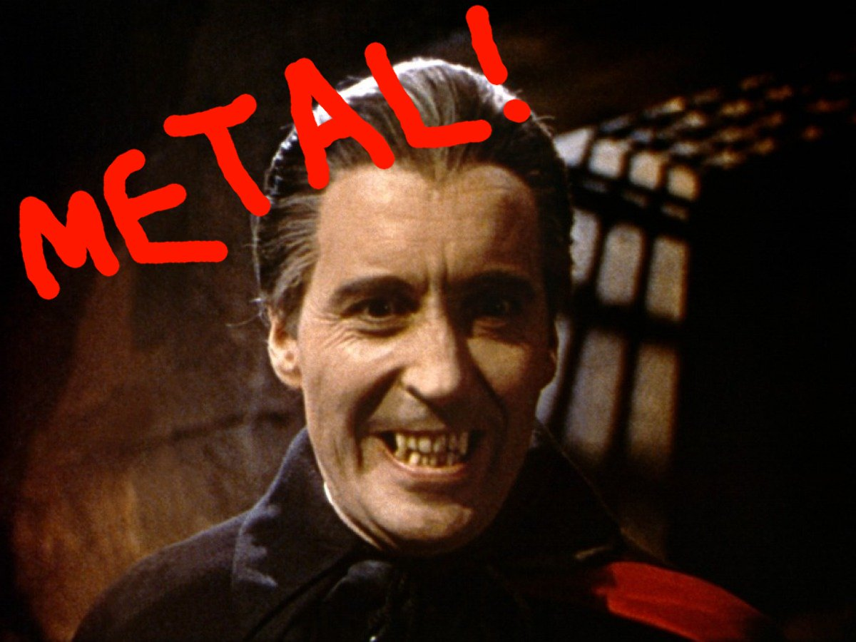 Christopher Lee Released a Heavy Metal Christmas Album. Yeah, that ...