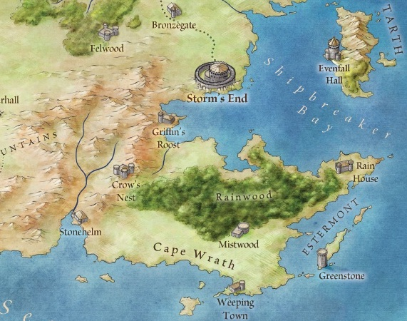 Zoomable map of westeros  Modern Borefare