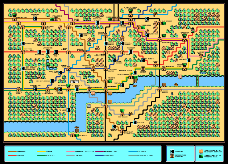 Finished Super Mario Bros 3 Zone 1 tube map. Now without stupid watermark and decent resolution. - Imgur