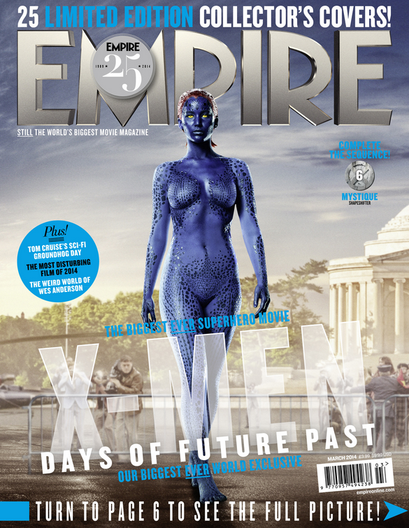 2014-01-27 13_30_04-Empire X-Men_ Days Of Future Past Exclusive - Mystique Cover
