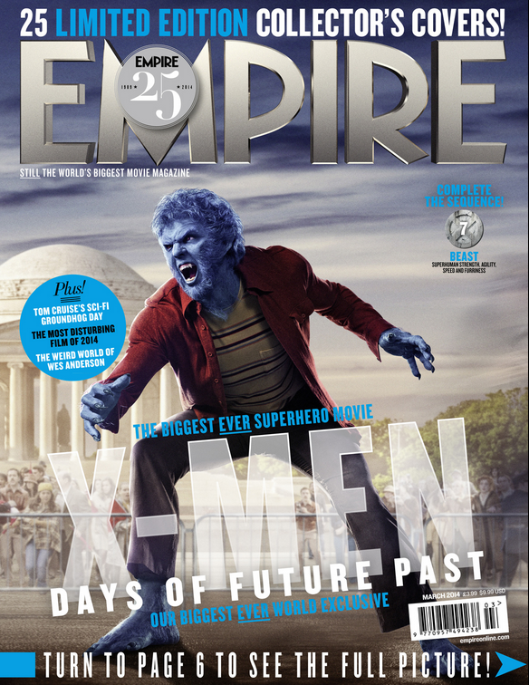 2014-01-27 13_30_16-Empire X-Men_ Days Of Future Past Exclusive - Beast Cover