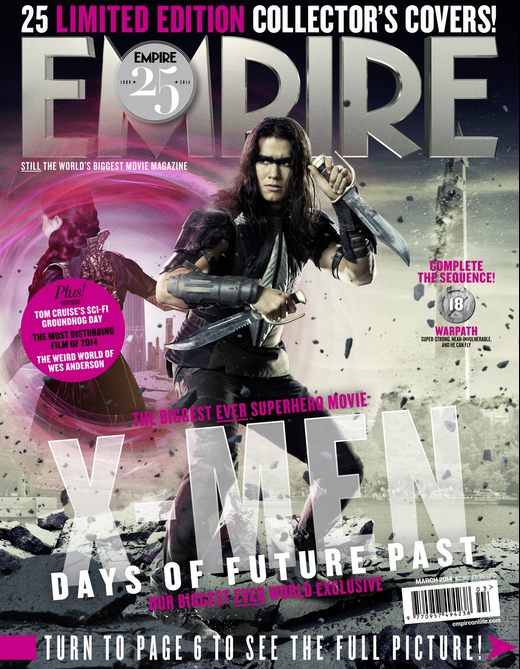 2014-01-28 08_44_58-Empire X-Men_ Days Of Future Past Exclusive - Warpath Cover