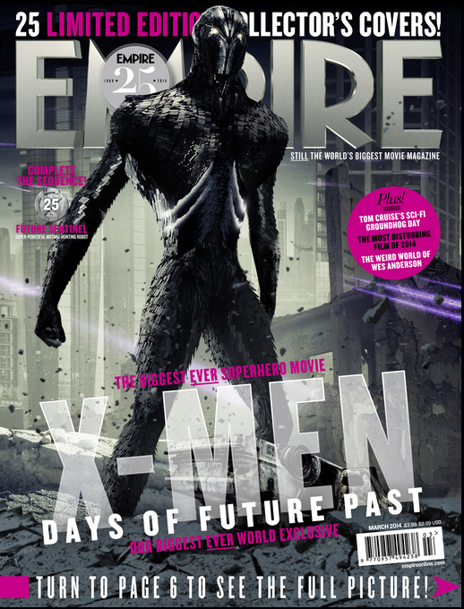 X-Men: Days of Future Past Featured on 25 Different Empire ... X Men Days Of Future Past Empire Covers
