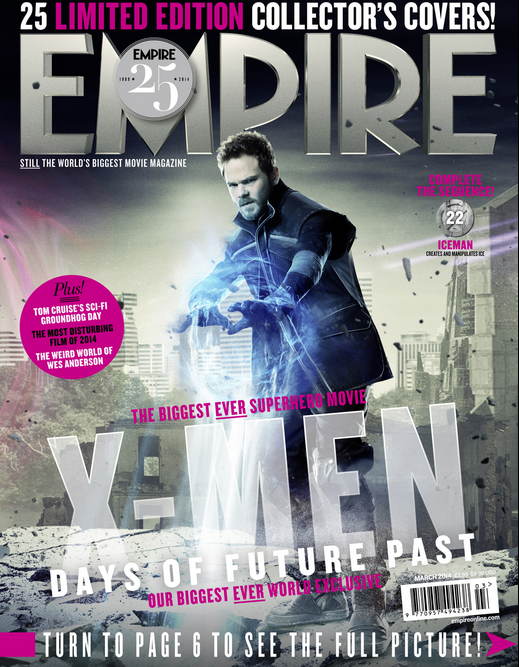 2014-01-28 08_48_01-Empire X-Men_ Days Of Future Past Exclusive - Iceman Cover