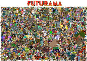 the_cast_of_futurama_by_unrellius-d6kos9j