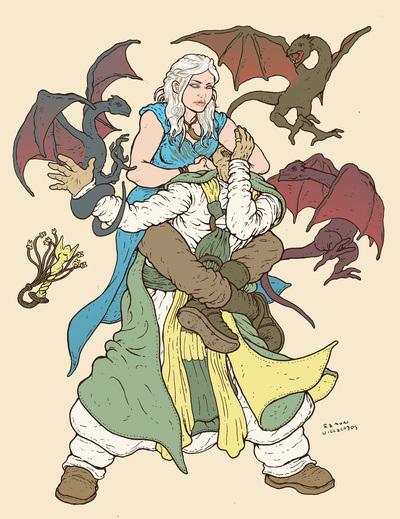 Daenerys Targaryen, Mother of the Dragon Sleeper