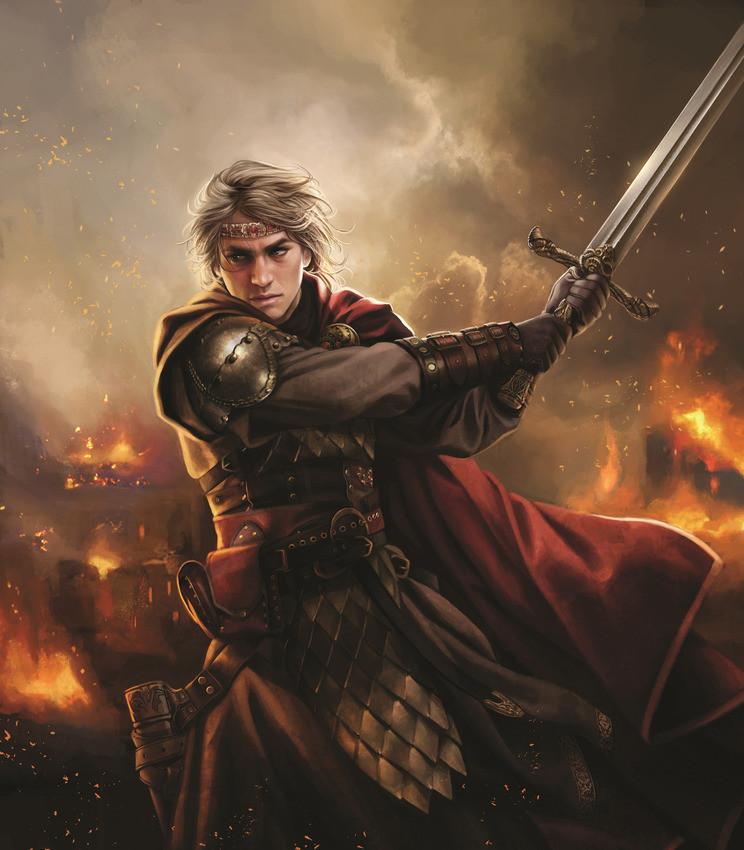 Aegon the Conqueror by Magali Villeneuve