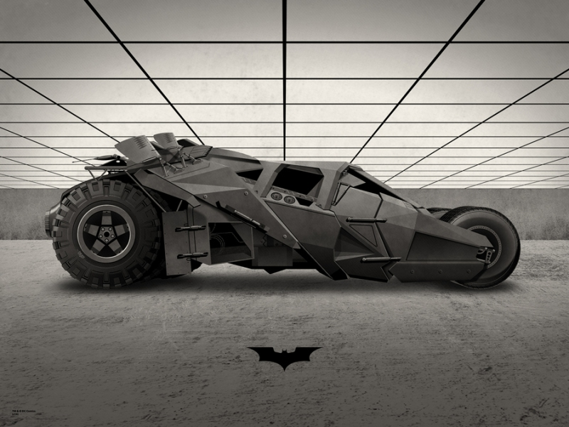 "The Tumbler by DKNG. 18""x24"" screen print. Hand Numbered. Edition of 225. Printed by D&L Screenprinting. $40"